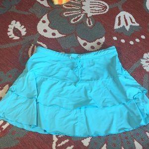 Athlete cover up flirt skirt